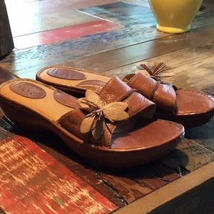 BOC Leather Ladies Sandals